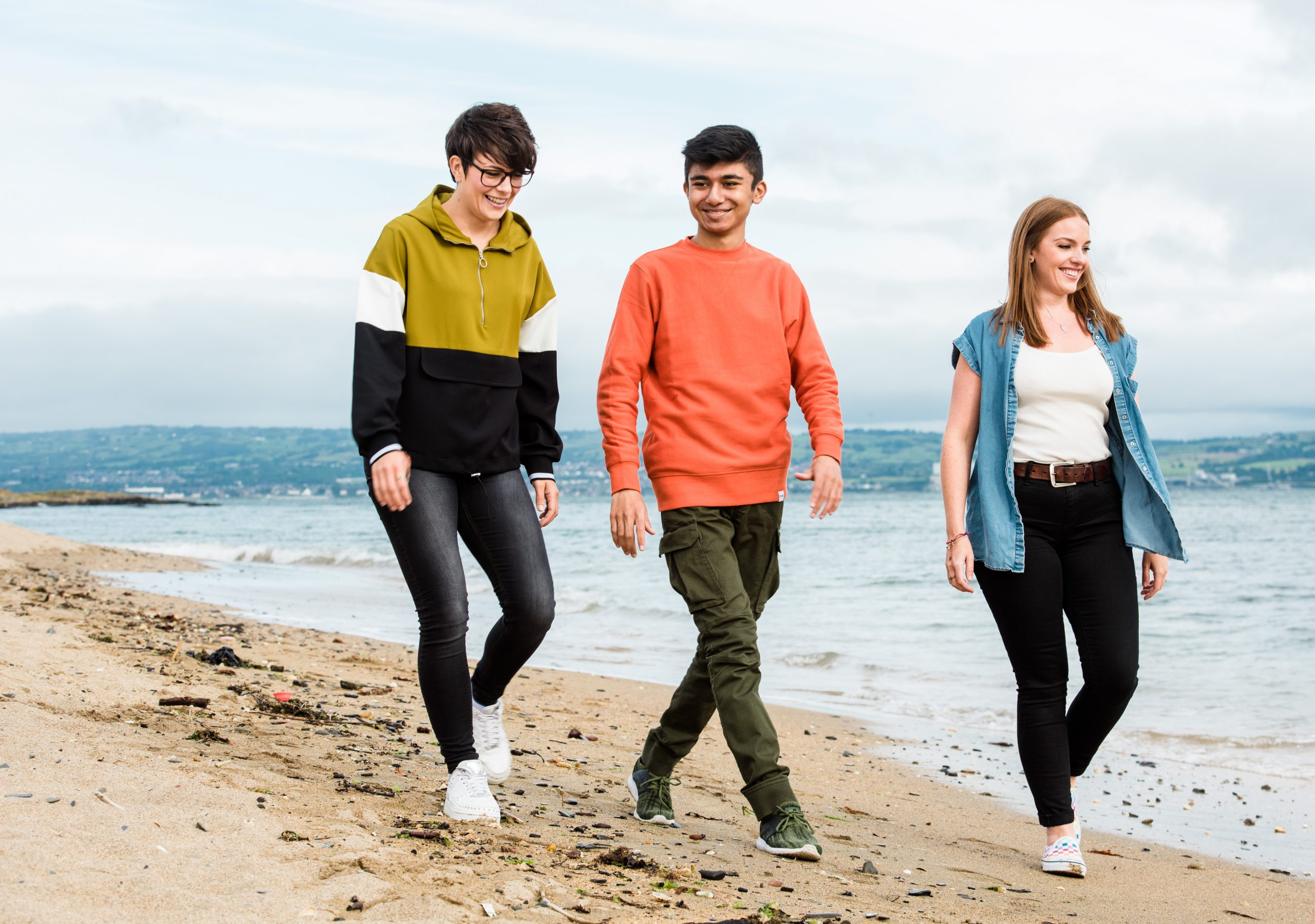 foster carers and young person