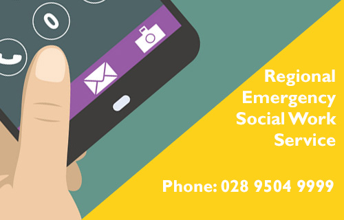 You can contact RESWS on 028 9504 9999